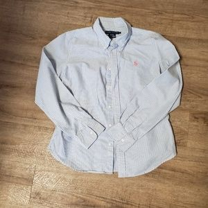 Lauren Ralph Lauren  button down shirt size 12